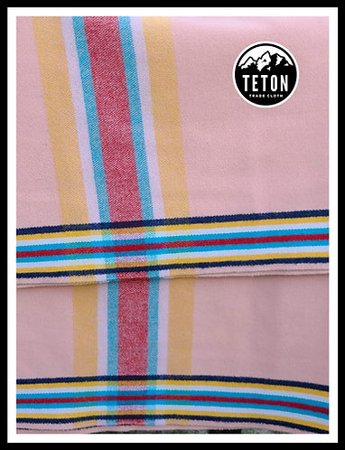 Peach 4 Way Cloth- 2 yards