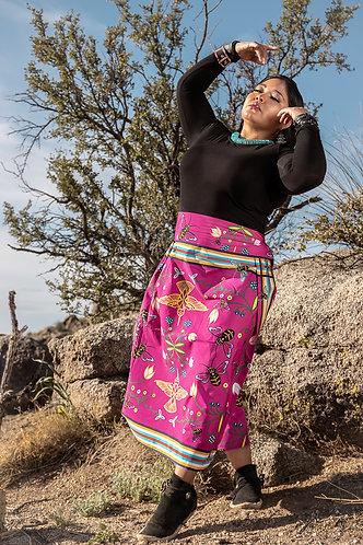 Cotton Fabric designed by Kiowa Dougherty for Teton Trade Cloth