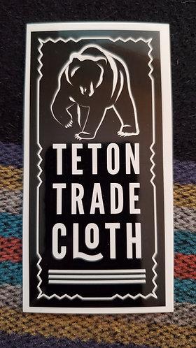 Teton Bear Sticker