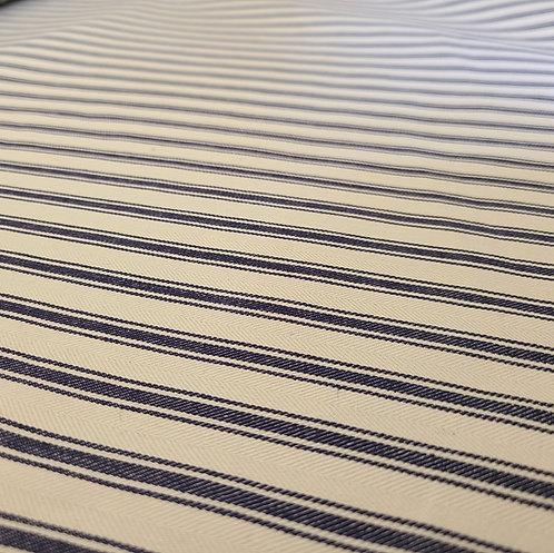 Vintage Pillow Ticking Cotton Fabric