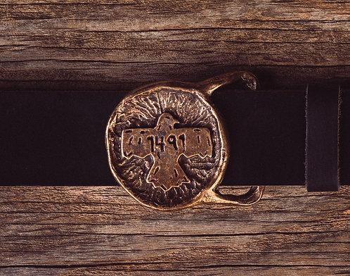 1491 Belt Buckle by Steven Paul Judd