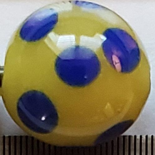 Greasy Yellow Skunk Bead (10 pack)