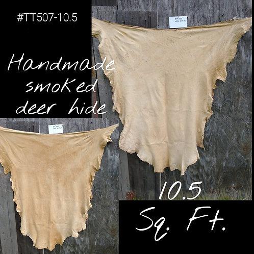 Smoked Hand Tan Hides