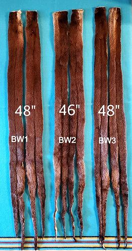 Long Otter Braid Wraps