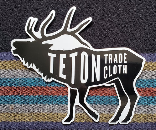 Teton Elk Sticker