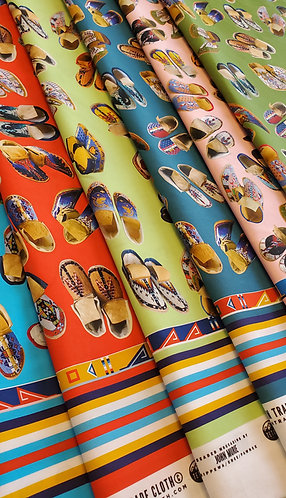 Cotton Fabric designed by John Murie for Teton Trade Cloth