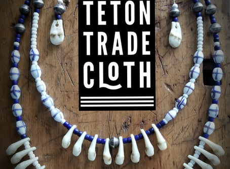How to make a trade bead necklace
