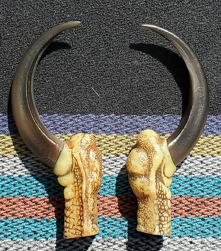 Replica large eagle claws (pair)