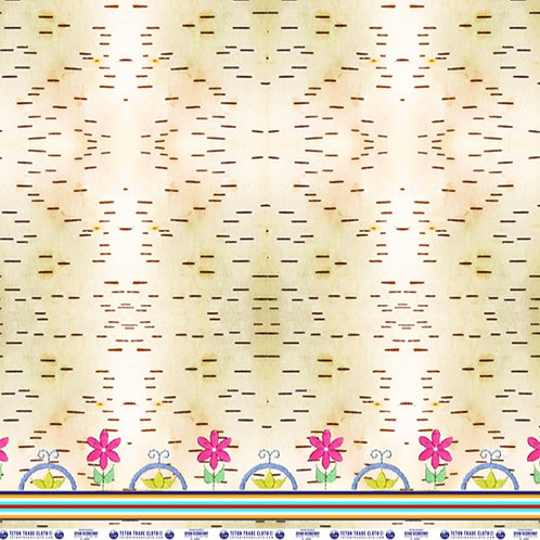 Cotton Fabric designed by Devan Kicknosway for Teton Trade Cloth