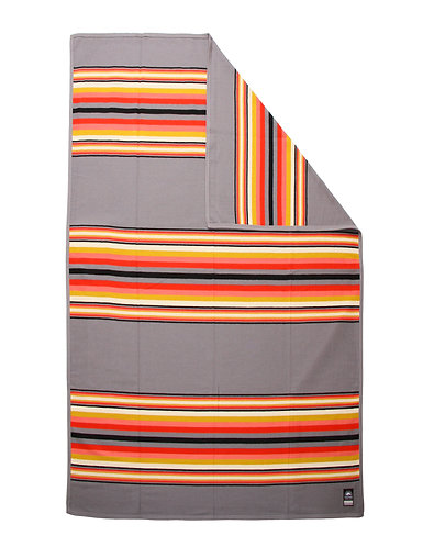 Fire Grey Serape