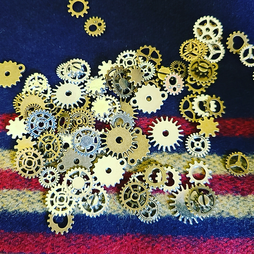 Vintage Style Clock Gears