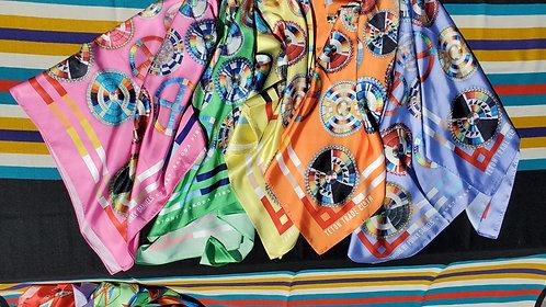 Punky Daniels Satin Scarves by Teton Trade Cloth