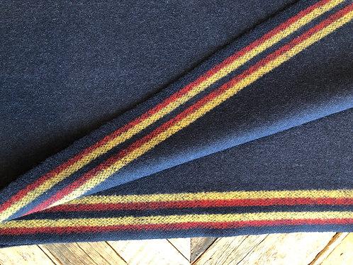 Navy 1800s English 6 Band Cloth