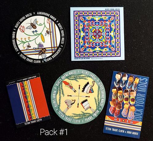 Teton Artist Sticker Packs