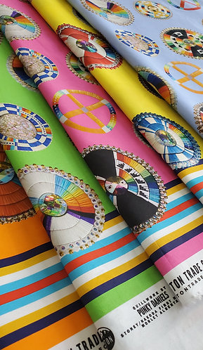 Cotton Fabric designed by Punky Daniels for Teton Trade Cloth