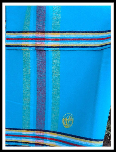 Turquoise 4 Way Cloth- 2 yards