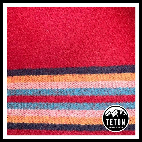 Red 10 Band Trade Cloth
