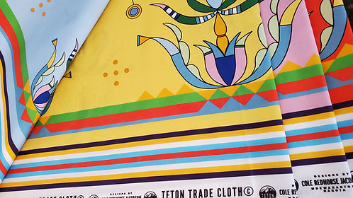 Cotton Fabric designed by Cole Redhorse Jacobson for Teton Trade Cloth