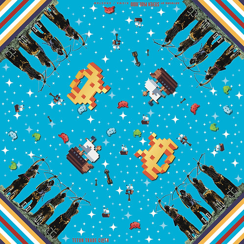 Invaders Bandana by Steven Paul Judd