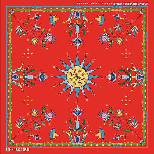 Cole Redhorse Jacobson Cotton Bandana by Teton Trade Cloth