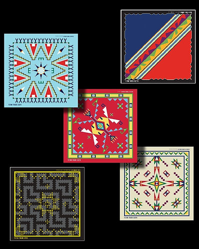 Cotton Bandanas by Teton Trade Cloth
