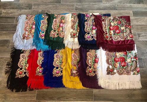 Floral Shawls