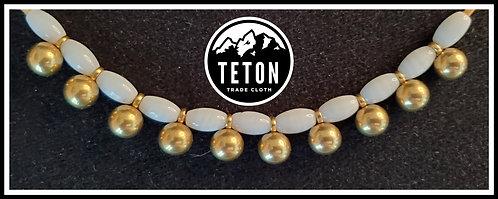Brass shoe buttons (10 pack)