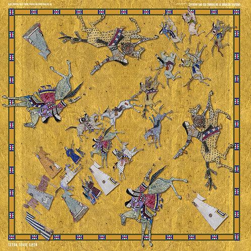 Battle of the Rosebud- Tom Haukaas Bandanas by Teton Trade Cloth