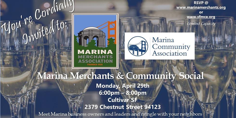 Marina Merchants & Community Social