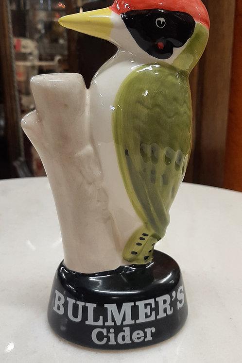 Ceramic Bulmers cider ornament.