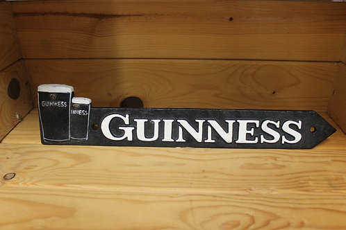 Guinness Cast Iron Sign (Large)