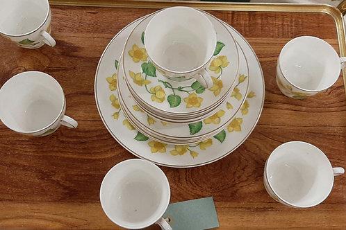 Wedgewood Bone China Tea Set (19 piece)