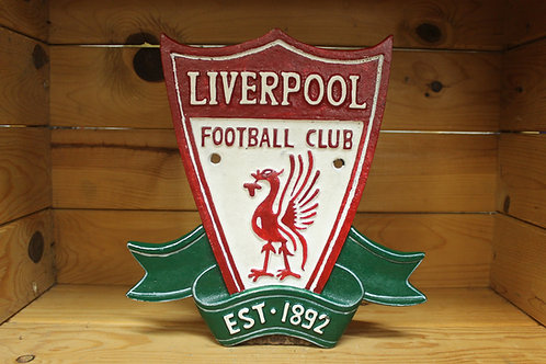 Liverpool cast iron crest.