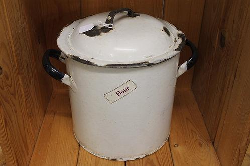 Flour Jar (Vintage enamel)