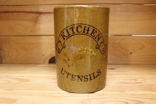 Kitchen utensils jar (Vintage)