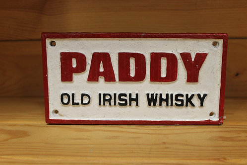 Paddy (Cast Iron Sign)