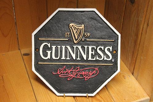 Guinness Cast iron sign.