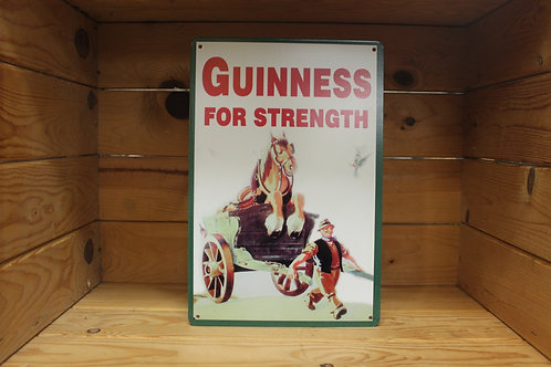 Guinness for strength sign.