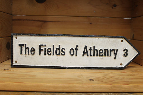 Fields of Athenry (Large) Cast Iron Sign