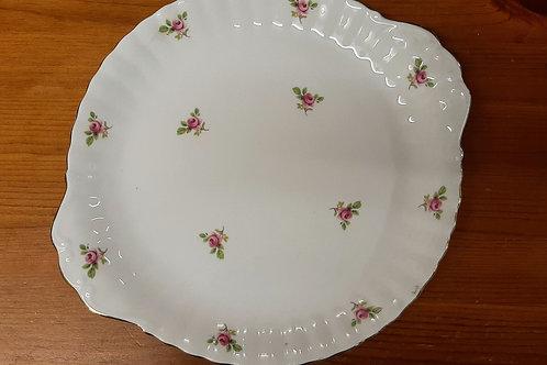 English Bone China Biscuit Plate