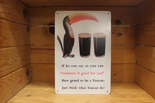 Guinness sign.