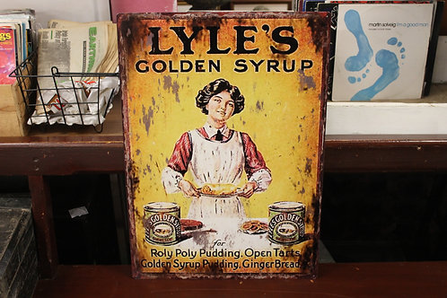 Lyle's golden syrup (Reproduction metal sign)