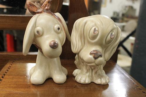 Sylvac Dogs (Pair)