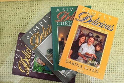 4 x Darina Allen Cookbooks