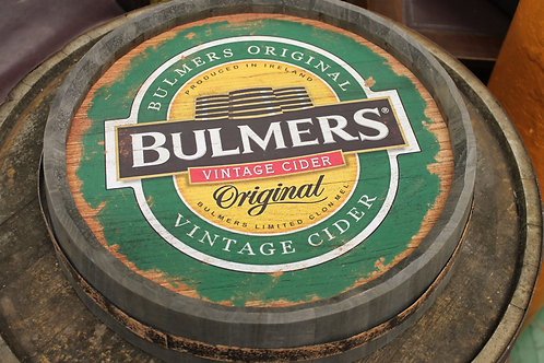 Bulmers cider Barrell top (Reproduction)
