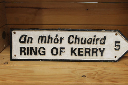 Ring of Kerry (Large Cast Iron Sign)