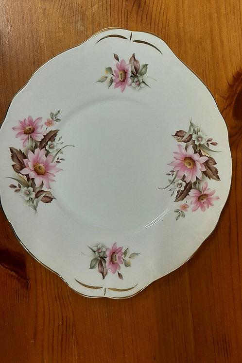 Royal Duchess Bone China Biscuit Plate