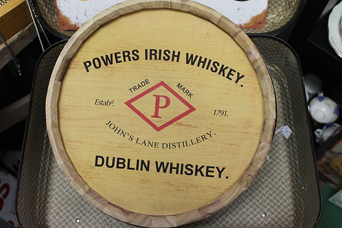 Powers Whiskey Barrell (Reproduction)
