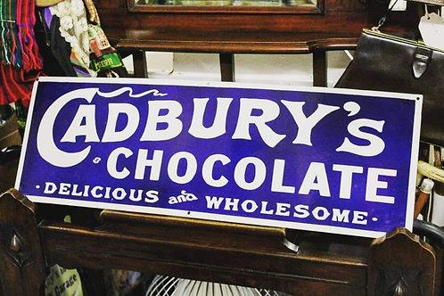 Cadbury's Chocolate Metal sign (Reproduction)