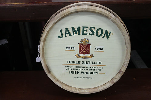 Jameson whiskey barrell top (Reproduction)
